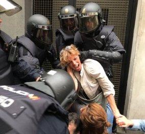 Καταλονία: το 90% ψήφισε ανεξαρτησία μέσα στη βία & τον διχασμό - Ραχόι: Δεν έγινε δημοψήφισμα - Βίντεο - Κυρίως Φωτογραφία - Gallery - Video