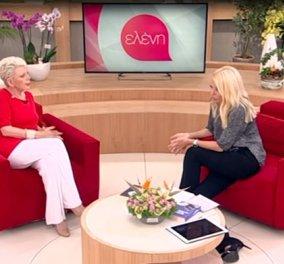 Η Έλενα Ακρίτα πήγε στην Ελένη Μενεγάκη & μίλησε για την κατάθλιψη της - «Πάλεψα 30 χρόνια στο σκοτάδι»  - Κυρίως Φωτογραφία - Gallery - Video