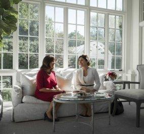 Μπέτυ Μπαζιάνα: Η εντυπωσιακή εμφάνιση της με το λευκό ταγιέρ στο «σπίτι» του αντιπροέδρου των ΗΠΑ (ΦΩΤΟ) - Κυρίως Φωτογραφία - Gallery - Video