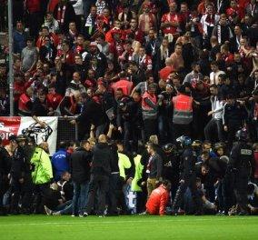 Πανικός σε γήπεδο στη Γαλλία: 29 τραυματίες οι 5 σοβαρά από κατάρρευση κιγκλιδώματος ασφαλείας (ΦΩΤΟ-ΒΙΝΤΕΟ) - Κυρίως Φωτογραφία - Gallery - Video