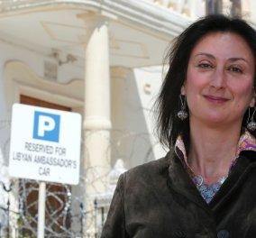Η Μαλτέζα δημοσιογράφος που δολοφονήθηκε: Μητέρα 3 αγοριών τα έβαλε με όλο το πολιτικό σύστημα  & την δικαιοσύνη  - Κυρίως Φωτογραφία - Gallery - Video