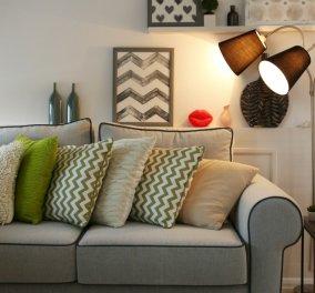 4 οικονομικές ιδέες για να μεταμορφώσετε τον παλιό σας καναπέ σε καινούργιο! - Κυρίως Φωτογραφία - Gallery - Video