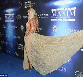 Άρχισαν οι αποκαλύψεις...: Η Joanna Krupa ντύθηκε ημίγυμνη για το πάρτι Halloween του Maxims (ΦΩΤΟ) - Κυρίως Φωτογραφία - Gallery - Video