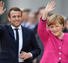 Άνγκελα Μέρκελ: Σύμφωνη με τις προτάσεις Μακρόν για την Ευρωζώνη  - Κυρίως Φωτογραφία - Gallery - Video