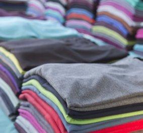 Πώς μπορείτε να διπλώνετε τις μπλούζες στο πι και φι – δηλαδή σε λιγότερο από 2 δευτερόλεπτα! (ΒΙΝΤΕΟ) - Κυρίως Φωτογραφία - Gallery - Video