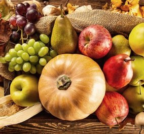 Αυτά είναι τα 5 υγιεινά τρόφιμα που πρέπει να προσθέσετε στη διατροφή σας το φθινόπωρο - Κυρίως Φωτογραφία - Gallery - Video
