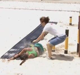Λιποθύμησε παίκτρια του NOMADS κατά τη διάρκεια του αγώνα (ΒΙΝΤΕΟ) - Κυρίως Φωτογραφία - Gallery - Video