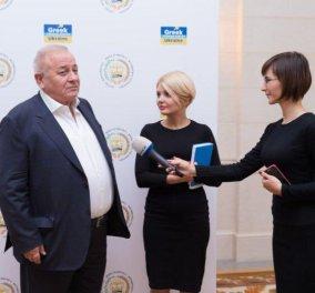 Εγκαινιάστηκε το Ελληνικό Κέντρο Τουρισμού του Ιδρύματος Μπούμπουρα στο Κίεβο - Κυρίως Φωτογραφία - Gallery - Video