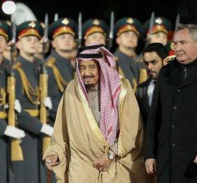 Απίστευτη πολυτέλεια από τον βασιλιά της Σαουδικής Αραβίας: Πήρε σε ταξίδι του στη Μόσχα το κρεβάτι του, 800 κιλά τρόφιμα και 1.500 υπαλλήλους - Κυρίως Φωτογραφία - Gallery - Video