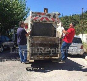 Απίστευτο αλλά ελληνικό! Συνέλαβαν τον αντιδήμαρχο στην Λαμία γιατί μάζευε σκουπίδια  - Κυρίως Φωτογραφία - Gallery - Video