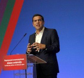 Αλέξης Τσίπρας: «Η επιτροπεία της χώρας τελειώνει.Η οικονομία έχει ήδη μπει σε φάση ανάκαμψης» - Κυρίως Φωτογραφία - Gallery - Video