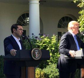 Διεθνή ΜΜΕ: Πως σχολίασαν την επίσκεψη του Αλέξη Τσίπρα στην Ουάσινγκτον και τη συνάντησή του με Ντόναλντ Τραμπ - Κυρίως Φωτογραφία - Gallery - Video