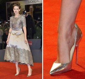 Κόκκινο χαλί   Να πως συγκρατούν οι διάσημες τα μεγαλύτερα παπούτσια που  φορούν σε επίσημες εμφανίσεις 5d8f2e5d6df