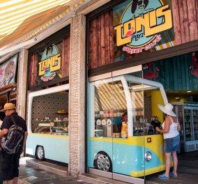 O Τόνι Σφήνος άνοιξε πολύχρωμο καφέ & είναι υπέροχο - Δείτε το Tonis Playz (ΦΩΤΟ) - Κυρίως Φωτογραφία - Gallery - Video