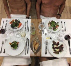 Oh Mon Dieu! Το πρώτο εστιατόριο για .... γυμνιστές είναι γεγονός! (ΦΩΤΟ- VIDEO) - Κυρίως Φωτογραφία - Gallery - Video