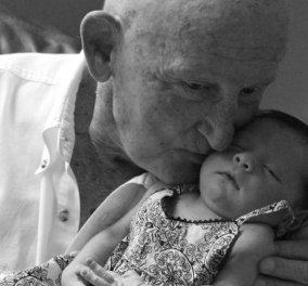 """50 φωτογραφίες παππούδων και γιαγιάδων που θα σας κάνουν να """"λυγίσετε"""": Συναντάνε τα εγγόνια τους  - Κυρίως Φωτογραφία - Gallery - Video"""
