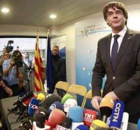 Εκδόθηκε το ευρωπαϊκό ένταλμα σύλληψης εις βάρος του Πουιτζδεμόντ 4 υπουργών της πρώην κυβέρνησης της Καταλονίας - Κυρίως Φωτογραφία - Gallery - Video