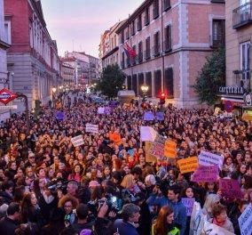 Σοκ στην Ισπανία 5 νεαροί βίασαν 18χρονη - Καυχιόντουσαν σε ομάδα «λύκων» στο WhatsApp - Κυρίως Φωτογραφία - Gallery - Video