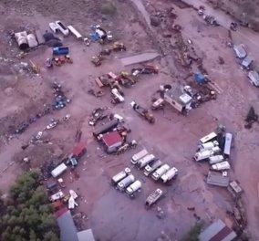 Βίντεο drone: Η επόμενη μέρα της τραγωδίας - Συνταρακτικές εικόνες από την Μάνδρα  - Κυρίως Φωτογραφία - Gallery - Video