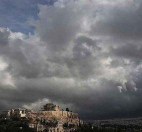 Νεφώσεις παροδικά αυξημένες - βροχές και σποραδικές καταιγίδες το Σάββατο  - Κυρίως Φωτογραφία - Gallery - Video