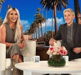Η Kim Kardashian αποκάλυψε κατά λάθος στην Ellen DeGeneres το φύλο του τρίτου της παιδιού (ΒΙΝΤΕΟ) - Κυρίως Φωτογραφία - Gallery - Video