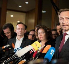 Κρίστιαν Λίντνερ: Ο άνθρωπος που οδηγεί τη Γερμανία και την Άνγκελα Μέρκελ σε μια πολιτική κρίση - Κυρίως Φωτογραφία - Gallery - Video