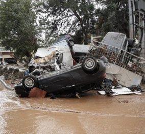 Νεκρός εντοπίστηκε ο τελευταίος αγνοούμενος από τη φονική πλημμύρα στην Μάνδρα - Κυρίως Φωτογραφία - Gallery - Video