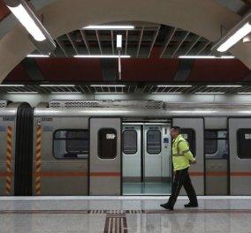 Μετρό: Στάση εργασίας από τις 9 το βράδυ ως τη λήξη της βάρδιας - Κυρίως Φωτογραφία - Gallery - Video