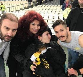 Συγκίνησε η Μυρτώ που πανηγύρισε τη νίκη της αγαπημένης της ΑΕΚ στο γήπεδο! - Κυρίως Φωτογραφία - Gallery - Video