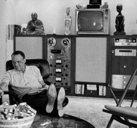 Vintage Story: Όταν ο Φρανκ Σινάτρα υποχρέωσε τον αρχιτέκτονα του να ετοιμάσει τη βίλα του 4.500 τμ ως τα Χριστούγεννα  - Κυρίως Φωτογραφία - Gallery - Video