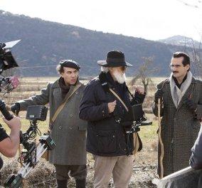 "Good News: Χαμογελαστός με την οικογένεια του  ο Μιχάλης Λεμπιδάκης στην πρεμιέρα του ""Νίκου Καζαντζάκη"" (ΦΩΤΟ)  - Κυρίως Φωτογραφία - Gallery - Video"