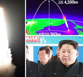 """Παγκόσμια ανησυχία: """"Ο πύραυλος που εκτοξεύσαμε μπορεί να πλήξει τις ΗΠΑ στο σύνολο τους"""" δηλώνει η Βόρεια Κορέα (ΦΩΤΟ) - Κυρίως Φωτογραφία - Gallery - Video"""