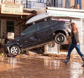 10 φωτογραφίες από τις καταστροφές στην πανέμορφη αρχόντισσα των Δωδεκανήσων Σύμη  - Κυρίως Φωτογραφία - Gallery - Video