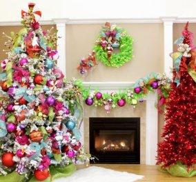 Τα πιο τρελά πολύχρωμα Χριστουγεννιάτικα δέντρα: Μπλε, κανελί, μοβ ή όλα μαζί (ΦΩΤΟ) - Κυρίως Φωτογραφία - Gallery - Video