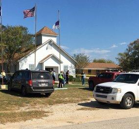 Νέο σοκ στις ΗΠΑ: 26 νεκροί από επίθεση ενόπλου σε εκκλησία στο Τέξας - Από 5 έως 70 ετών τα θύματα - Κυρίως Φωτογραφία - Gallery - Video