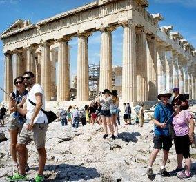 Good news: Αύξηση κατά 10,3% τα έσοδα από τον τουρισμό στο πρώτο 9μηνο του 2017 - Κυρίως Φωτογραφία - Gallery - Video