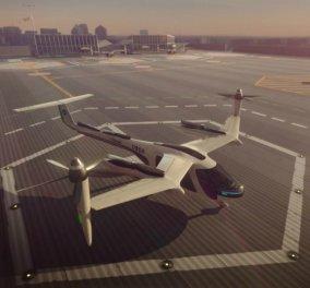 Βίντεο: Η Uber σε συνεργασία με τη Nasa μας ταξιδεύουν με ιπτάμενα ταξί - Κυρίως Φωτογραφία - Gallery - Video