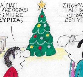 """Ξεκαρδιστικός ΚΥΡ: ' Μπαμπά ο Αη Βασίλης είναι ..... ΣΥΡΙΖΑ""""; - Κυρίως Φωτογραφία - Gallery - Video"""