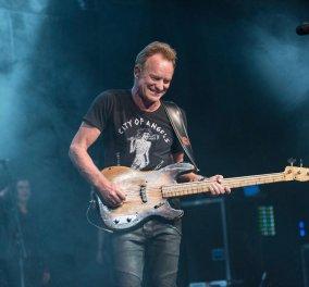 """Κι αν είστε """"ροκ"""" ετοιμαστείτε! - Ο Sting έρχεται το καλοκαίρι στο Ηρώδειο - Κυρίως Φωτογραφία - Gallery - Video"""