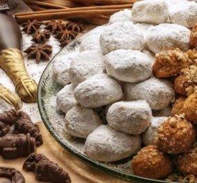Πόσες θερμίδες έχουν οι παραδοσιακές λιχουδιές των εορτών -Κουραμπιέδες & μελομακάρονα; - Κυρίως Φωτογραφία - Gallery - Video