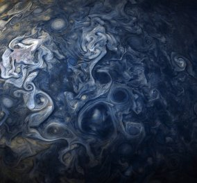 NASA: Αυτές είναι οι υπέροχες φωτογραφίες του Δία - Μοιάζουν με έργο μεγάλου ιμπρεσιονιστή ζωγράφου (ΦΩΤΟ) - Κυρίως Φωτογραφία - Gallery - Video