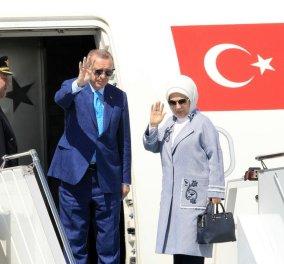 Στην Ελλάδα ο Τούρκος πρόεδρος: Αυτό θα είναι το πρόγραμμα των Ρετζέπ και Εμινέ Ερντογάν τις επόμενες ώρες στη χώρα μας - Κυρίως Φωτογραφία - Gallery - Video