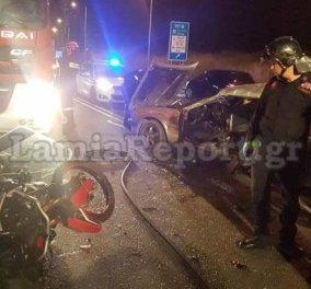 Τραγωδία  στη Λαμία- 27χρονος σκοτώθηκε σε τροχαίο - Είχε χάσει και τον πατέρα του σε τροχαίο ατύχημα (ΦΩΤΟ -ΒΙΝΤΕΟ) - Κυρίως Φωτογραφία - Gallery - Video