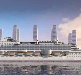 """Το πιο """"φιλικό στο περιβάλλον"""" κρουαζιερόπλοιο του κόσμου ετοιμάζεται να """"ανοίξει πανιά"""" - και το όνομα αυτού """"Echoship"""" (ΦΩΤΟ) - Κυρίως Φωτογραφία - Gallery - Video"""