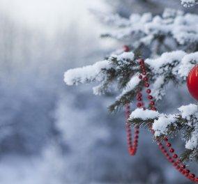 Χρόνια πολλά! Χριστούγεννα με άνοδο της θερμοκρασίας και αίθριο καιρό! - Κυρίως Φωτογραφία - Gallery - Video