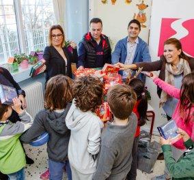 Η ΕΚΟ μοιράζει παιχνίδια, χαρά και χαμόγελα στα σχολεία!  - Κυρίως Φωτογραφία - Gallery - Video