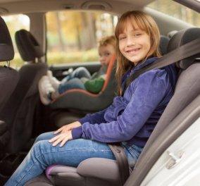Ένα τρομακτικό βίντεο δείχνει ένα μοιραίο λάθος που βάζει σε κίνδυνο τα παιδιά στο πίσω κάθισμα του αυτοκινήτου- Δείτε τι συμβαίνει - Κυρίως Φωτογραφία - Gallery - Video