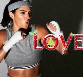Πιο fitness από ποτέ η όμορφη Κένταλ! Με ωμά αυγά και γυμναστική η Τζένερ σε βίντεο του περιοδικού Love - Κυρίως Φωτογραφία - Gallery - Video