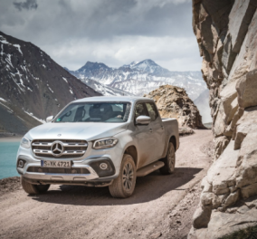 Σπάει τους κανόνες η νέα Mercedes Benz X-Class: Το νέο pickup της εταιρείας αποτελεί ένα νέο είδος στην κατηγορία του - Κυρίως Φωτογραφία - Gallery - Video