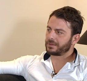 O Ντάνος - Γιώργος Αγγελόπουλος χάραξε στο καλογυμνασμένο στήθος του το σήμα για τον καρκίνο του μαστού - Κυρίως Φωτογραφία - Gallery - Video